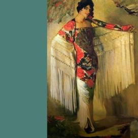 La dama del mantón, 1914.